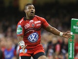 Steffon Armitage of Toulon looks on during the Heineken Cup Final between Toulon and Saracens at the Millennium Stadium on May 24, 2014