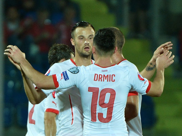 Result: Swiss beat San Marino for first points