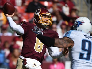 Redskins hold seven-point lead over Bears