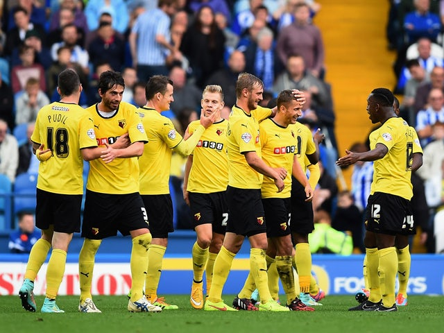 Result: Watford go top of Championship