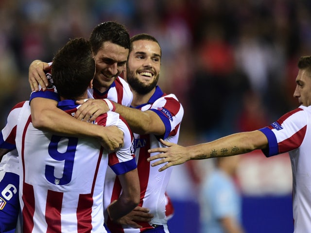 Result: Atletico Madrid rout Malmo