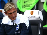 Brighton manager Sami Hyypia during the Sky Bet Championship match between Brighton & Hove Albion and Rotherham United at The Amex Stadium on October 25, 2014