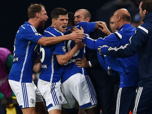 Result: Injury-time penalty wins it for Schalke