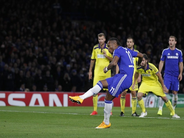 Result: Drogba scores in Chelsea stroll