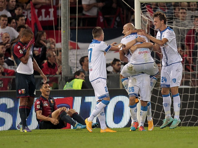 Result: Early Tonelli strike gives Empoli win
