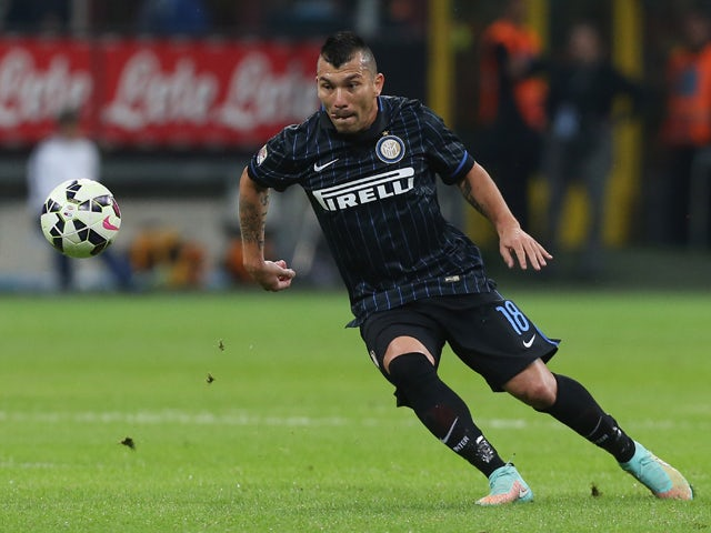 Medel ruled out for Inter Milan