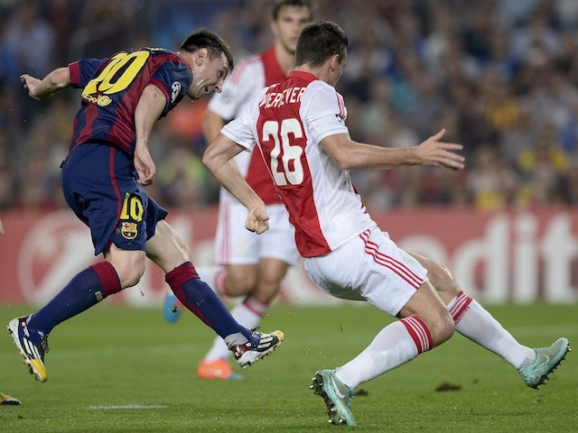 Result: Barca back on track with Ajax win