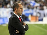 Monaco's Portuguese head coach Leonardo Jardim is pictured during the French L1 football match between Bastia (SCB) and Monaco (ASM) in Bastia, Corsica, France on October 25, 2014
