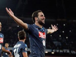 Napoli fire six past Verona