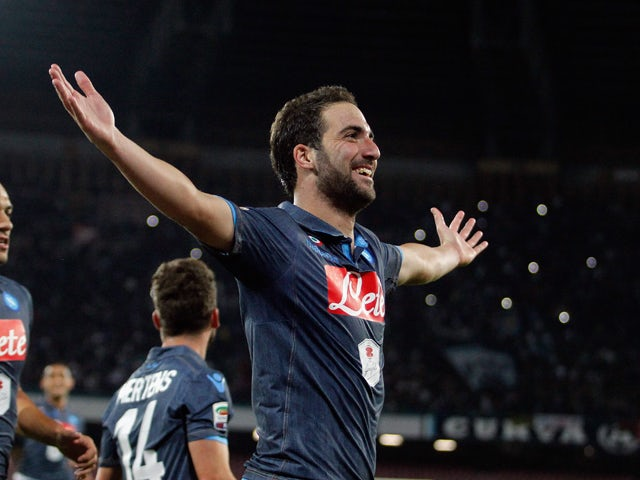 Result: Higuain fires Napoli to dramatic late win