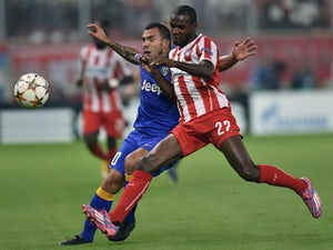 Olympiacos in front against Juventus