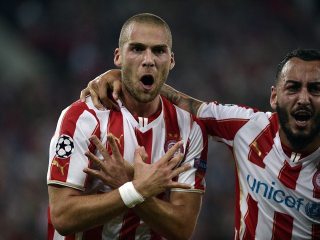 Result: Olympiacos drop into the Europa League