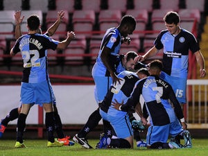 L2 roundup: Wycombe stay top of the table