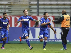 Sassuolo out of drop zone with win
