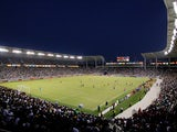 General view of the soccer field during the MLS match against Chivas USA and Los Angeles Galaxy at The Home Depot Center on July 21, 2012