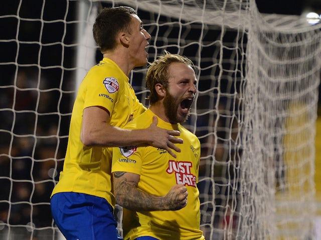 Result: Derby blitz Fulham to progress