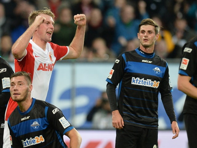 Result: Augsburg ease to win over SC Paderborn