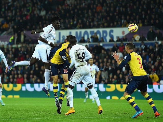 0b2f302a8 Result  Swansea City fightback stuns sorry Arsenal - Sports Mole