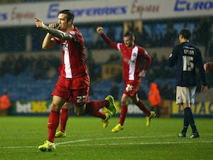 Late Hanley goal denies Cardiff first win