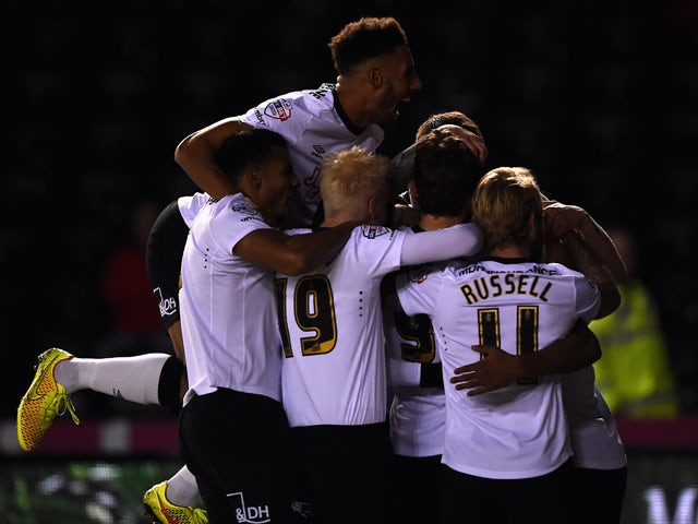 Result: Derby close in on leaders with win