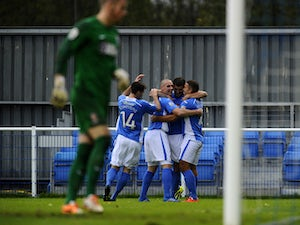 Win fires Eastleigh into playoff places