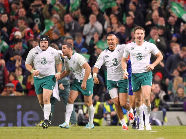Result: Ireland cruise to Springboks victory