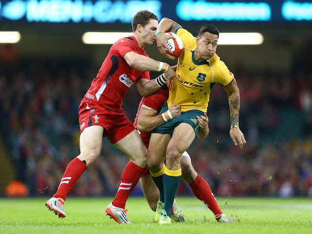 Result: Australia edge out Wales