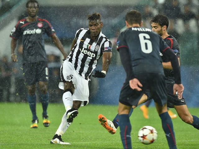 Result: Juve edge out Olympiacos