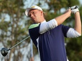Marcel Siem of Germany in action during the final round of the BMW Masters at Lake Malaren Golf Club on November 2, 2014