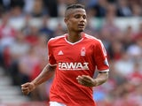 Michael Mancienne of Nottingham Forest during the Sky Bet Championship match between Nottingham Forest and Blackpool at City Ground on August 9, 2014
