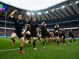 The All Blacks perform the Haka during the QBE International match between England and New Zealand at Twickenham Stadium on November 8, 2014