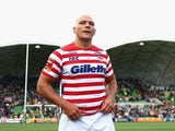 Ryan Hall of England looks on after losing the Four Nations match between the Australian Kangaroos and England at AAMI Park on November 2, 2014