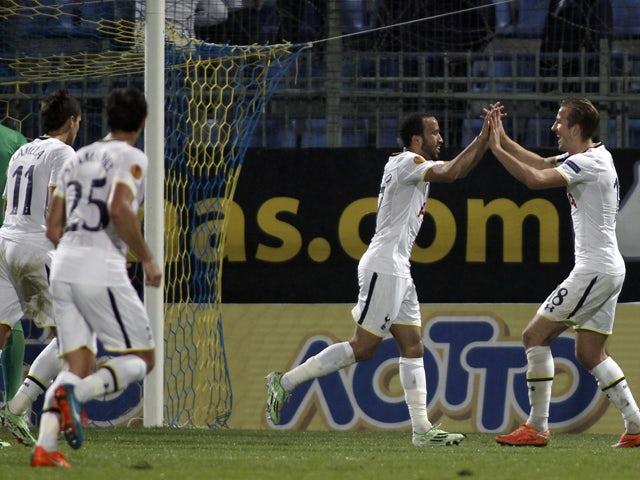 Result: Spurs ride their luck to beat Asteras