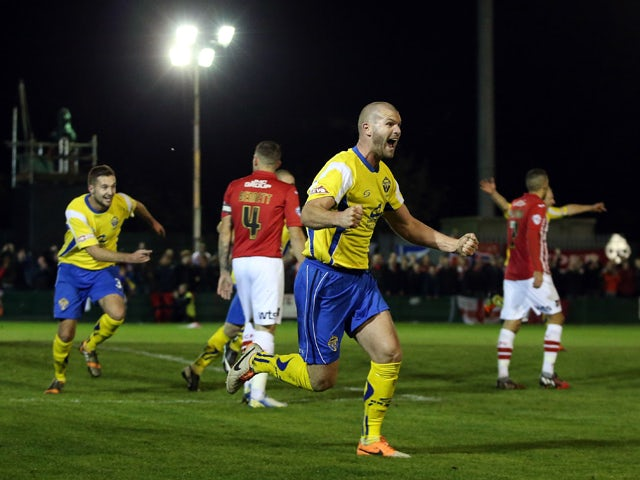 Result: Warrington upset Exeter in FA Cup