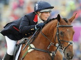 Zara Phillips of Great Britain riding High Kingdom in action in the Show Jumping Eventing Equestrian on Day 4 of the London 2012 Olympic Games at Greenwich Park on July 31, 2014