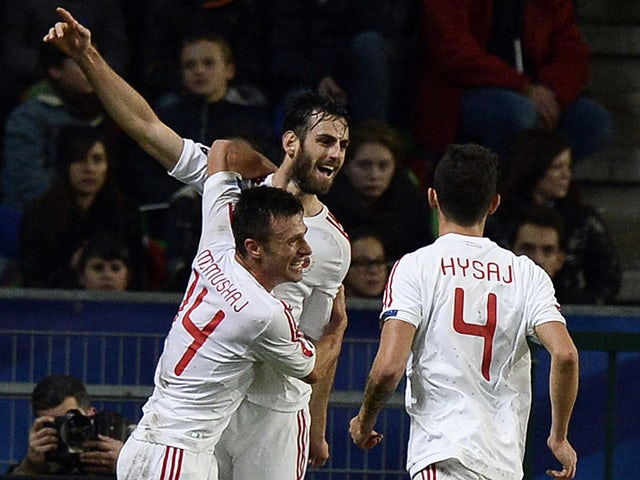 Result: Shkelzen Gashi heads Albania to 2-1 win over Armenia - Sports Mole