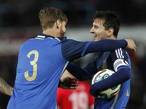 Argentina squeeze past Croatia