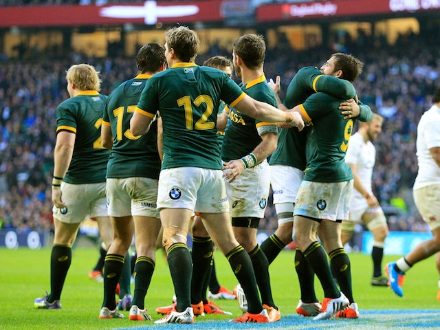 Result: South Africa too strong for Italy