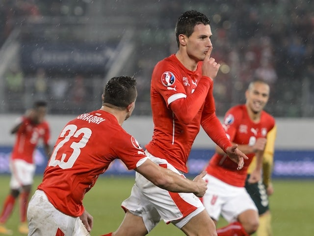 Result: Swiss turn it on in second half