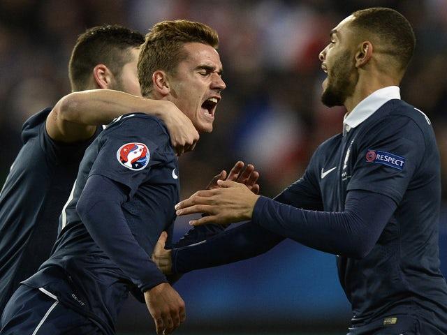 Result: Griezmann spares France blushes