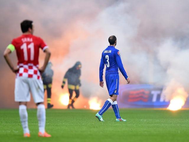 Result: Buffon blunder hands Croatia a point