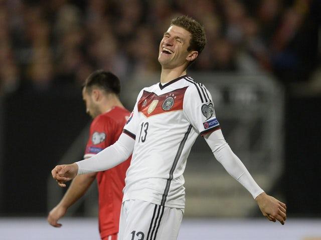 Result: Germany put four past Gibraltar