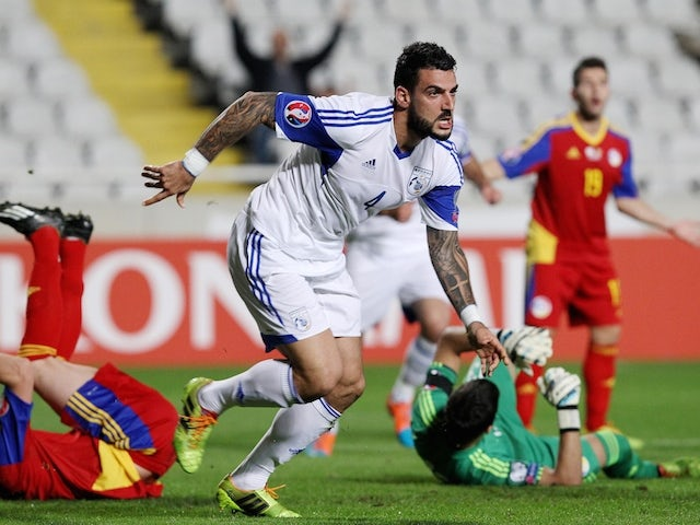 Result: Cyprus ease past Andorra