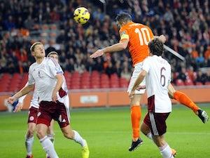 Netherlands thrash sorry Latvia