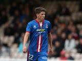Ryan Christie of Inverness controls the ball during the Scottish Premiership League Match between Motherwell and Inverness Caledonian Thistle at Fir Park on August 16, 2014