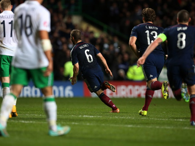 Result: Maloney fires Scots to vital victory