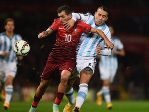 Late Guerreiro header gives Portugal win