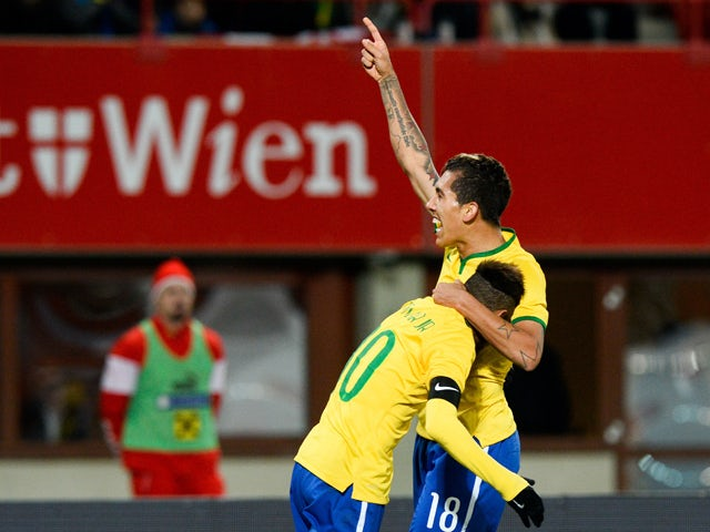 Result: Roberto Firmino guides Brazil to victory