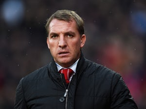 Brendan Rodgers, manager of Liverpool looks on during the Barclays Premier League match between Crystal Palace and Liverpool at Selhurst Park on November 23, 2014