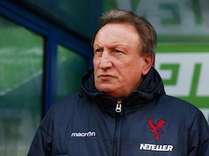 Neil Warnock, manager of Crystal Palace looks on during the Barclays Premier League match between Crystal Palace and Liverpool at Selhurst Park on November 23, 2014